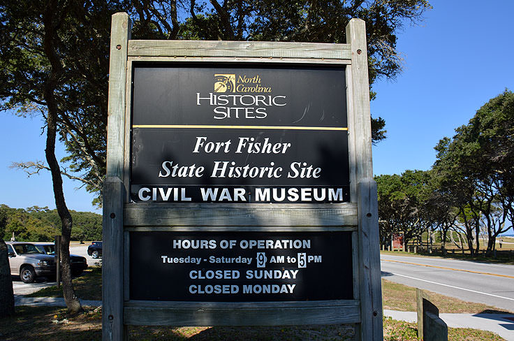 Fort Fisher sign