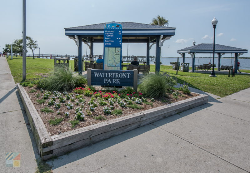 Waterfront Park in Southport, NC